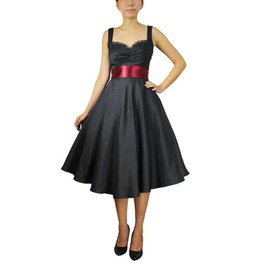 Francine Satin Dress