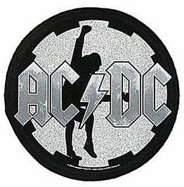 Ac/Dc Large Back Patch Sew On Official Angus Cog