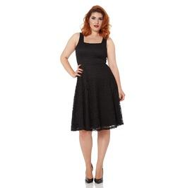 Voodoo Vixen Ashley Lace Little Black Dress