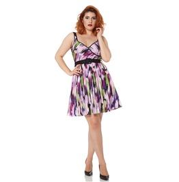 Voodoo Vixen Miranda Sassy Lilac Sweatheart Dress