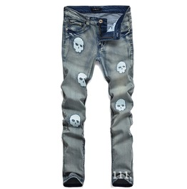 Men's Skulls Slim Jeans