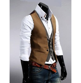 Steampunk Mens Double Vest 11469656 Eed View Our Size Chart B 4 U Buy!