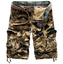 Men's Camouflage Cargo Summer Short