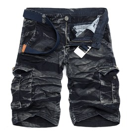 Men's Cotton Camouflage Cargo Summer Short
