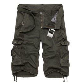 Men's Casual Multi Pocket Cargo Shorts