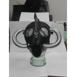 Apocalyptic Spiked Gas Mask Rubber Adjustable