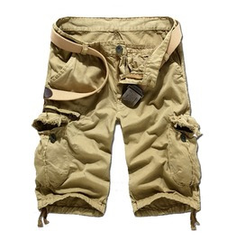 Men's Casual Multi Pocketed Cargo Shorts