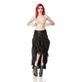 Jawbreaker Clothing Gothic Black Vampress Skirt