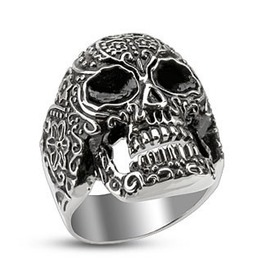 Day Of The Dead Stainless Steel Ring