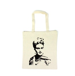 Frida Kahlo Canvas Tote Bag
