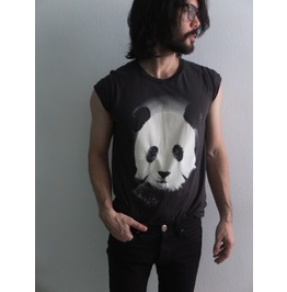 Panda animal pop rock indie fashion t shirt m t shirts 3
