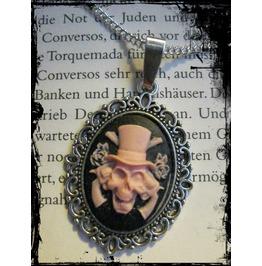 Necklace Skull, Rose