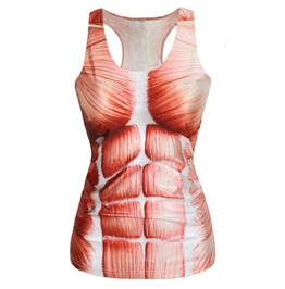 Muscle Anatomy Tank Top Design 13044