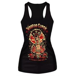 Voodoo Curse Black Tank Top Design 13064