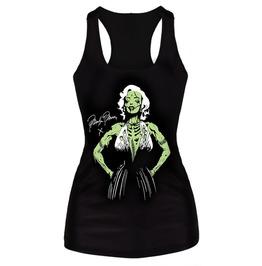 Zombie Marilyn Black Tank Top Design 13060