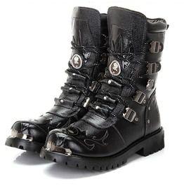 Men's Gothic Boots   Men's Goth Boots