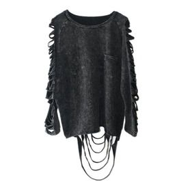 Tassel cut out top standard tops