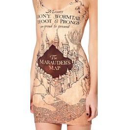 Design 3036 Marauder's Map Sleeveless Dress