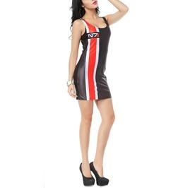 Design 3039 Black And Red N7 Dress
