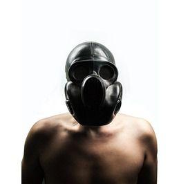 """Black Gas Mask Pbf Eo19 Scary Mask Called """"Gorilla"""" Mask. Size Medium (2)"""