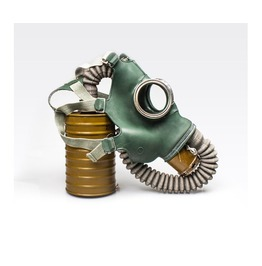 "Unused Vintage Rare Gas Mask. Soviet Gas Mask ""Gp 4"" Size Medium (2)"