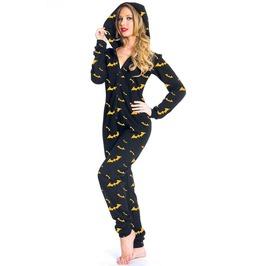 Jawbreaker Clothing Yellow Print Batgirl Onesie