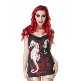 Jawbreaker Clothing Sexy Black Davy Bones Cami