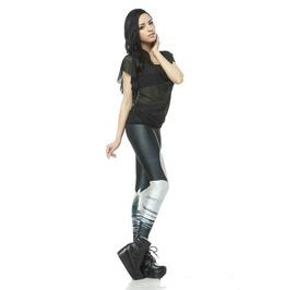 White Swan Pants Printed Cool Leggings