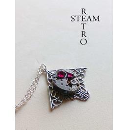 Mackintosh Art Deco Steampunk Rubi Necklace Steampunk Jewellery
