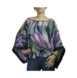 Off Shoulder Kimono Style Blouse