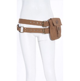 Steampunk Cyber Punk Women's Waist Bag Pocket Belt By Rq Bl
