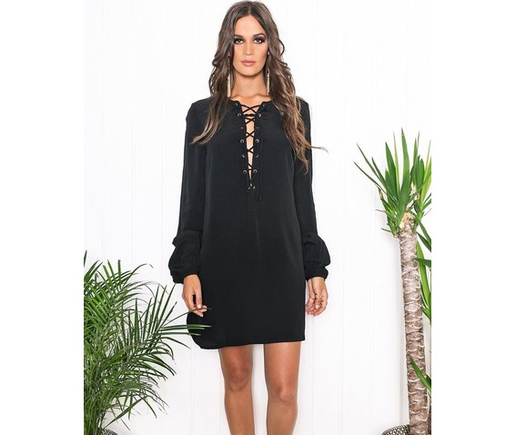 casual_lace_up_short_black_dress_dresses_6.jpg