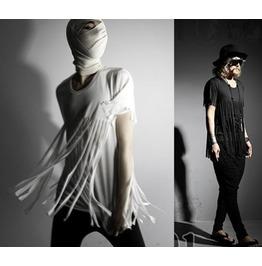 2016 New Street Fashion Tassel Style Men's T Shirts