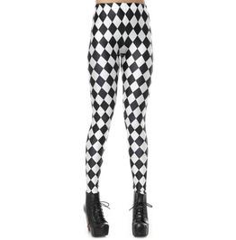 Black And White Jester Leggings Design 243