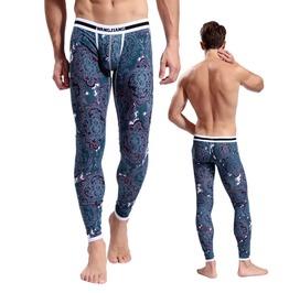 Men's 3 D Printed Baselayer Pants Leggings