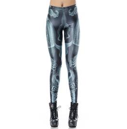 Blue Jellyfish Leggings Design 190