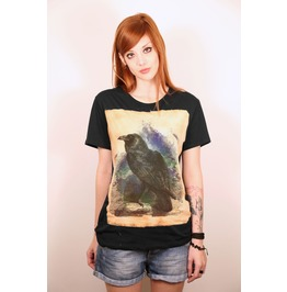 The Raven,Crow Black Tshirt
