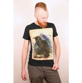 The Raven / Crow Black Tshirt
