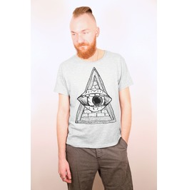 Illuminati Triangle And Eye Inspired Design
