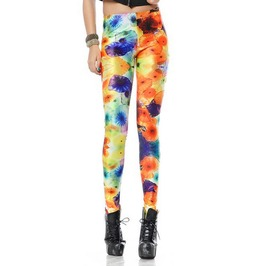 Colorful Jellyfish Leggings