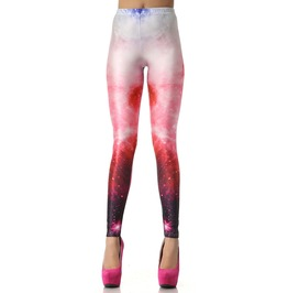 Galaxy Pink Leggings Design 257
