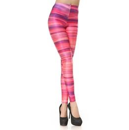 Galaxy Pink Rings Leggings Design 218