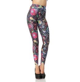 Geometric Colorful Leggings Design 205