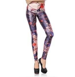 Japanese Fighter Leggings Design 80