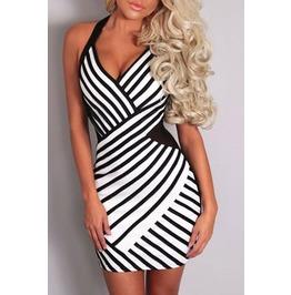 Subliminal Bodycon Dress One S Ize Fits Xs To M