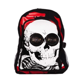 Jawbreaker Clothing Black Skull Stereo Backpack