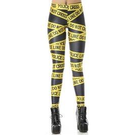 Police Line Leggings Design 209