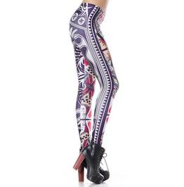 Queen Of Hearts Leggings Design 184