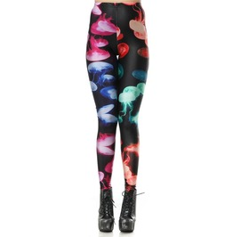 Rainbow Jellyfish Leggings Design 248