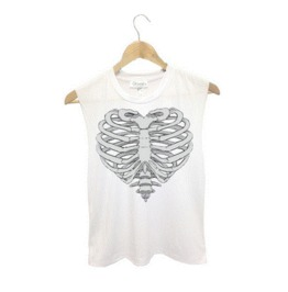 Sexy Summer Style Skull Printed Women's Top
